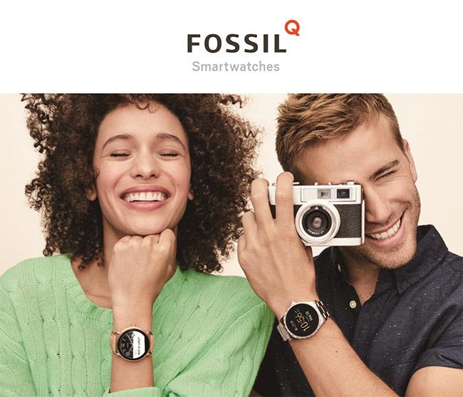 FOSSIL スマートウォッチ Q